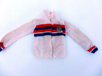 Vintage THE BIONIC WOMAN Doll JACKET/TOP - GC
