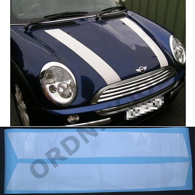 BMW Mini Bonnet Stripes R50/R52 Cooper / Mini One 2001-2008