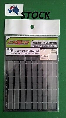 1 pack CASCO Fence YP305 for N scale model railway setting, diorama setting