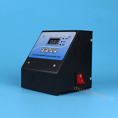 Heat Press Machine Thermostat  Time Temperature control box 220V