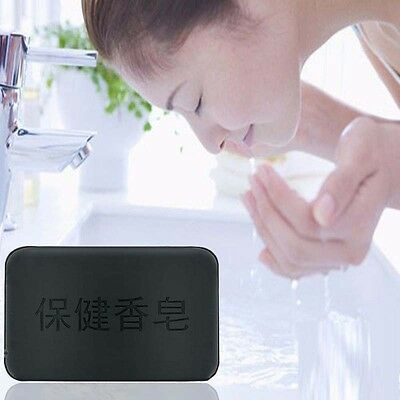 Handmade 1 piece Charcoal Cleansing Soap Bar Moisture Skin Soap Care New