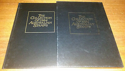 """The Hardcover Collection of 1984 Australian Stamps """"Lots of 1st Day Covers"""""""