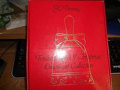 12 Bells From Jc Penney Showing The 12 Days Of Christmas.in Original Box
