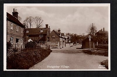 Hedgerley Village - real photographic postcard