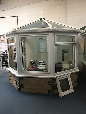 Victorian White Upvc Conservatory Roof Frames Amp French