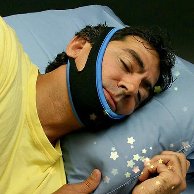 Stop Snoring Chin Strap Snore Belt Anti Apnea Jaw Solution Sleep Tmj Support Bw