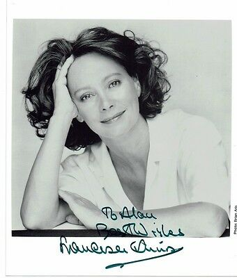 Francesca Annis British Actress Hand signed Photograph 10 x 8