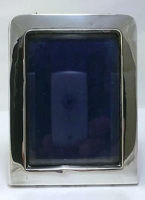 """Victorian hallmarked Sterling Silver-fronted  4.6"""" x 3.5""""  Photo Frame - 1897"""