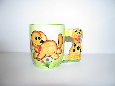 Child's Puppy Cup with Dog Handle