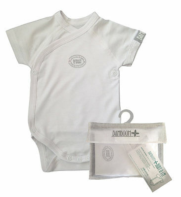 Body Bamboom short sleeves size 0-1 month