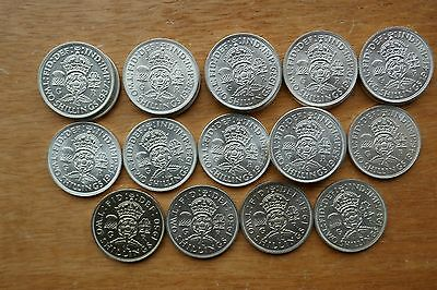 George VI Two Shillings/Florin - 1937 to 1951 choose your date (Better Grades)