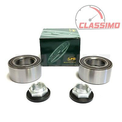 Front Wheel Bearing Kit Pair for FORD MONDEO MK 3 with ABS - 2000 to 2007