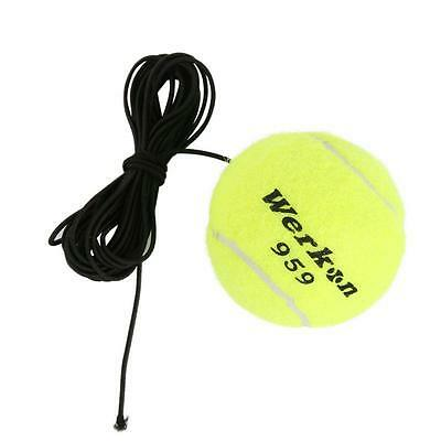 Tennis Training Ball With Elastic Rope Practice Ball On Elastic String Trainer