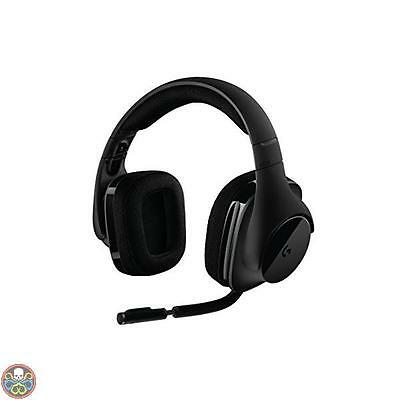 Logitech Tg  No Black G533 Cuffie Da Gioco Audio Surround Wireless Dts Nuovo 8bf3fcedb86a