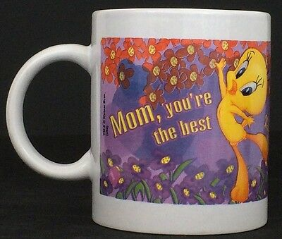 Tweety Bird Mom You're The Best Coffee Mug Tea Cup Looney Tunes Warner Bros