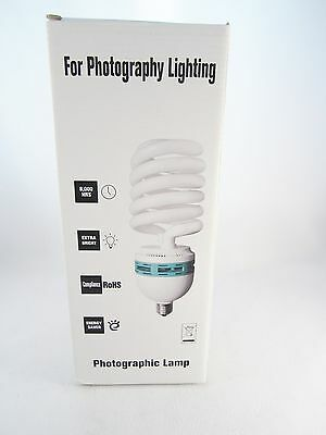 85 Watt 5500K Photography Studio Spiral Compact Flourescent Lamp