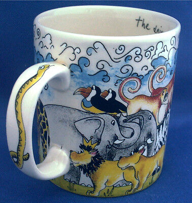 Paul Cardew Noah's Ark Mug. The Animals Went In Two By Two. Fun Animals