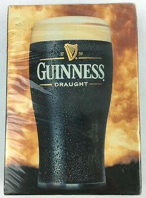 Guinness Draught Beer Playing Cards Deck New Sealed Official Licensed Belgium