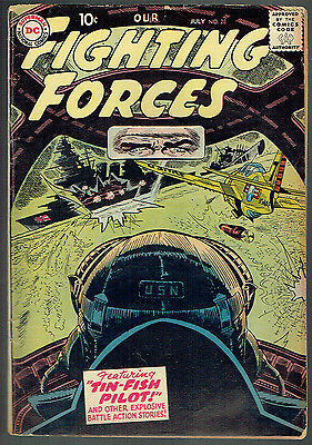 OUR FIGHTING FORCES  23  VG/4.0  -  Nice early issue from 1957!