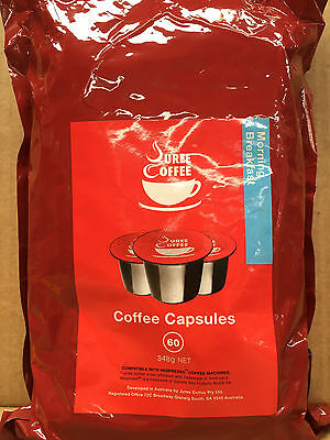 180 x Coffee Pods / Capsules 5.8g, Morning Breakfas Variety,Nespresso Compatible
