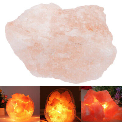 Natural Himalayan Air Purifier Crystal Rock Salt Egg Ball Block for Light Lamp