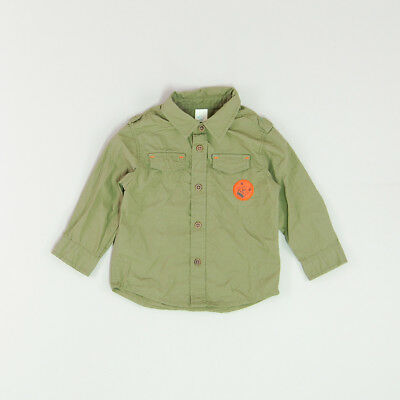 Camisa color Verde marca Baby Club 12 Meses