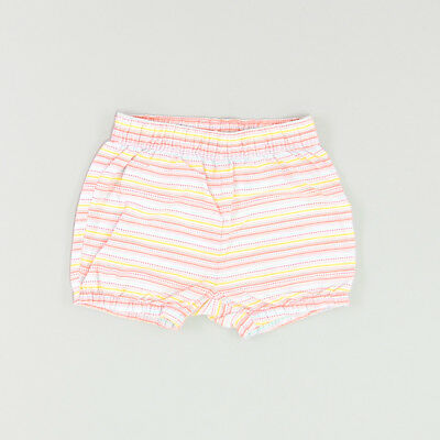 Shorts color Coral marca H&M 9 Meses