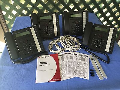 LG-Nortel IPECS LIP-8012D IP Handset / IP Phone (4) Available - Excellent Cond.