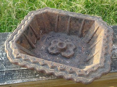 Antique Cast Iron Entrance Hall Umbrella Stand Drip Tray Gate Mark