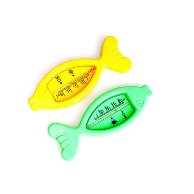 Children Fish Lovely Plastic Float Toy Baby Bath Tub Water Sensor Thermometer