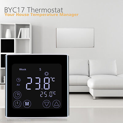 Programmable Temperature Controller Digital LCD Display Thermostat UK