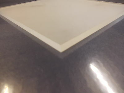 A6 5mm CLEAR FROSTED ACRYLIC(PERSPEX) SHEET 148MM X 105MM