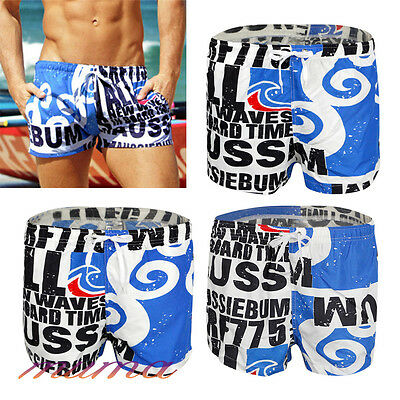 Men's Beach Swimwear Short Swimming Swim Trunks Shorts Holiday Slim Pants