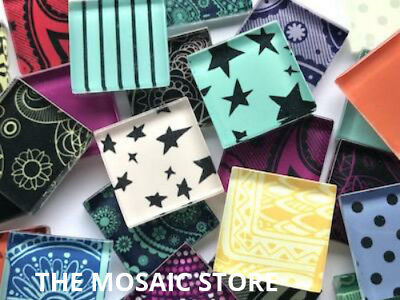 Mixed Handmade Colour Packs - Mosaic Tiles Supplies Art Craft
