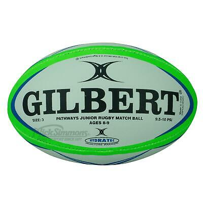 NEW Gilbert Mini Pathways Junior Rugby Union Ball size 3