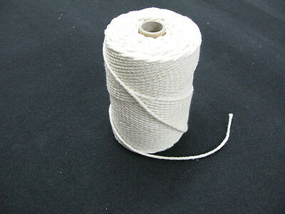 WHITE PIPING CORD BLEACHED 4 mm 5 mm 6 mm  WASHABLE COTTON UPHOLSTERY CUSHIONS
