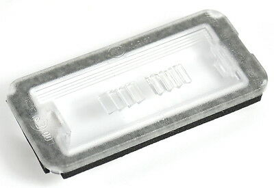 Fiat 500 Rear License Number Plate Light Clear Lens New Genuine 51800482