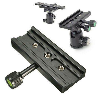 For Quick Release Plate 1/4'' 3/8'' Arca SWISS RSS Tripod QR-120 Clamp Adapter