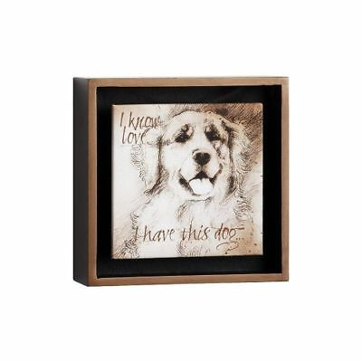 New Big Sky Golden Know Love Shadow Box