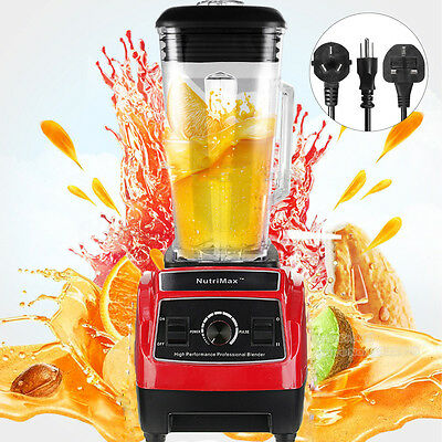 2200W 3Hp 2L Mixer Blender Frullatore Professionale Frutta Smoothie Juicer Maker