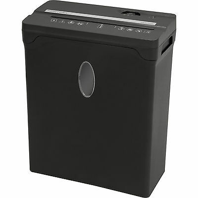 Sentinel 8-Sheet Cross-Cut Shredder - Black
