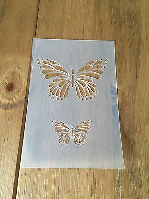 Butterfly Mylar Reusable Stencil Airbrush Painting Art Craft DIY Home Decor