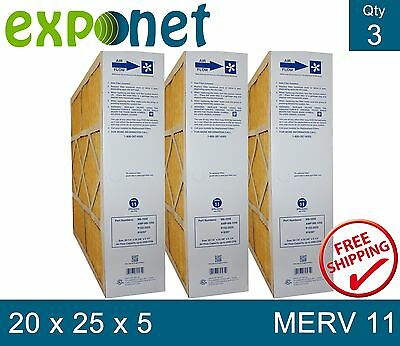 M8-1056 Genuine Merv 11 20X25X5 Goodman,electro-Air,five Seasons,carrier Filter