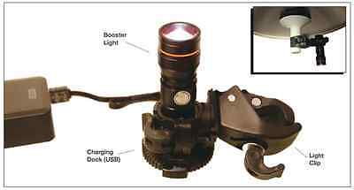 Exam light LED booster light 320 lumen.  Attaches to any standard OR light or IV