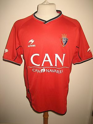 13c6787abbefe Osasuna home 90´s Spain football shirt soccer jersey trikot camiseta size L