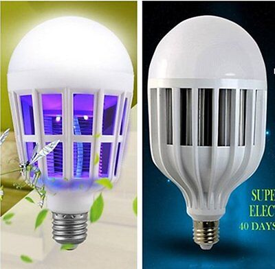 E27 Linghting Switch Led Anti Mosquito Killer Lamp Night Light Bulb Electroniczz