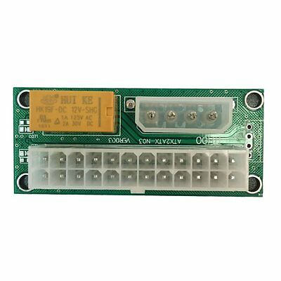 Pro 24PIN Dual Power Supply Synchronous Start Line Card Startup Module ZJZZ