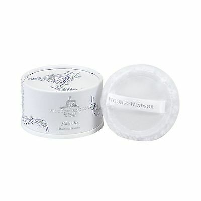 Woods of Windsor Body Dusting Powder with Puff for Women Lavender 3.5 Ounce