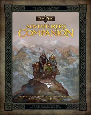 The One Ring Rpg The Adventurers Companion - Book