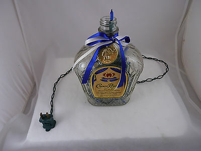 Crown Royal Light Up Decorated Bottle